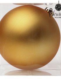 xekios Boule de Noël Christmas Planet 8842 15 cm Verre Blanc
