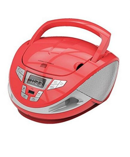 xekios Radio CD BRIGMTON W-440 USB Rouge