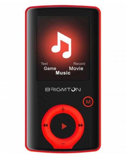 xekios Lecteur MP3 BRIGMTON BPA-81-R 1.8 8 GB Rouge