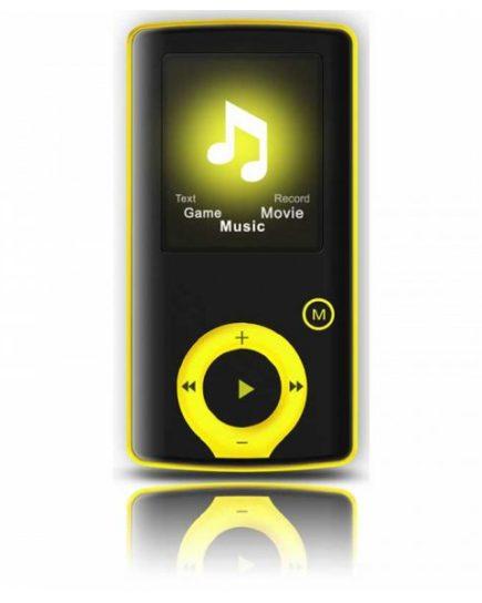 xekios Lecteur MP3 BRIGMTON BPA-81-Y 1.8 8 GB Jaune