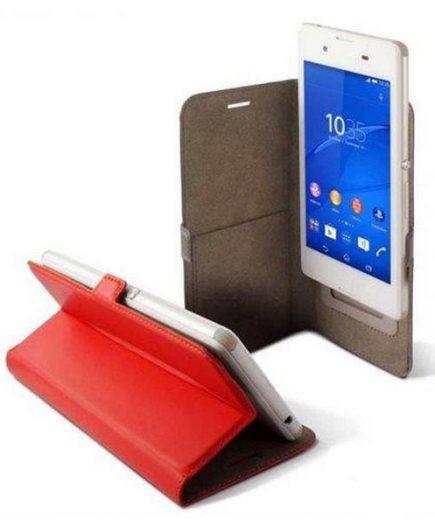 xekios Housse Universelle pour Mobile KSIX BXFU13T4 5RJ 4.5 Rouge