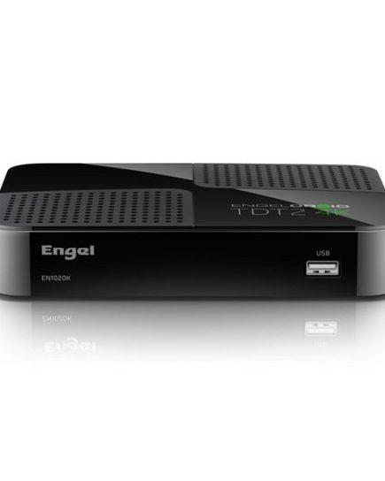 xekios Adapteur de TV intelligente Engel EN1020K 4K Full HD TDT Wifi Noir
