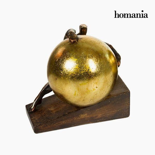 xekios Figurine Décorative Résine Or (18 x 15 x 17,5 cm) by Homania
