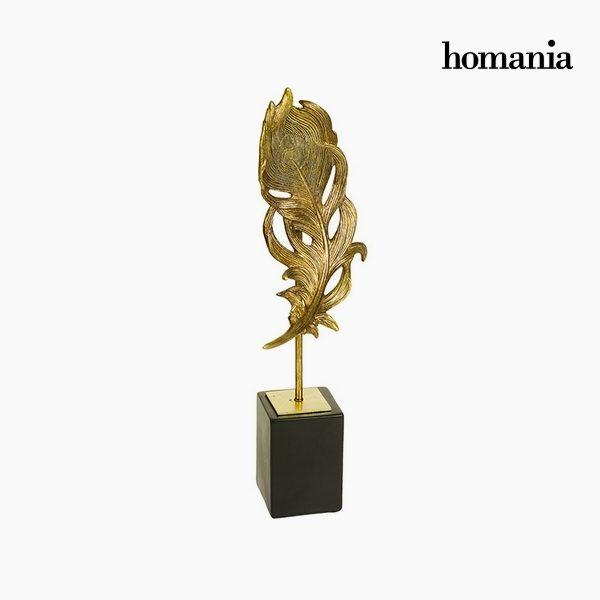xekios Figurine Décorative Résine Or (17 x 11 x 41 cm) by Homania