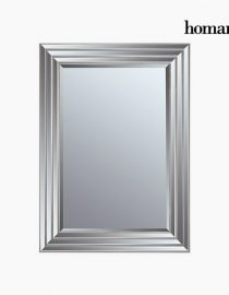 xekios Miroir Résine synthétique Vere biseauté Argenté Doré (82 x 3 x 112 cm) by Homania