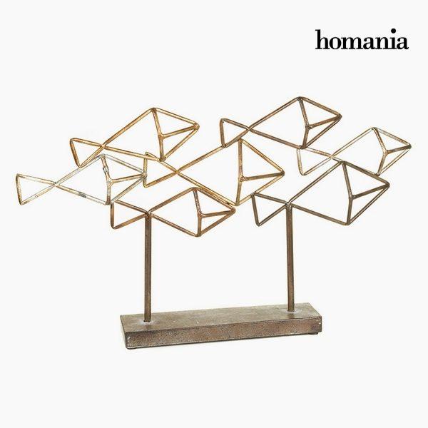 xekios Figurine Décorative Fer peint (61 x 8 x 35 cm) by Homania