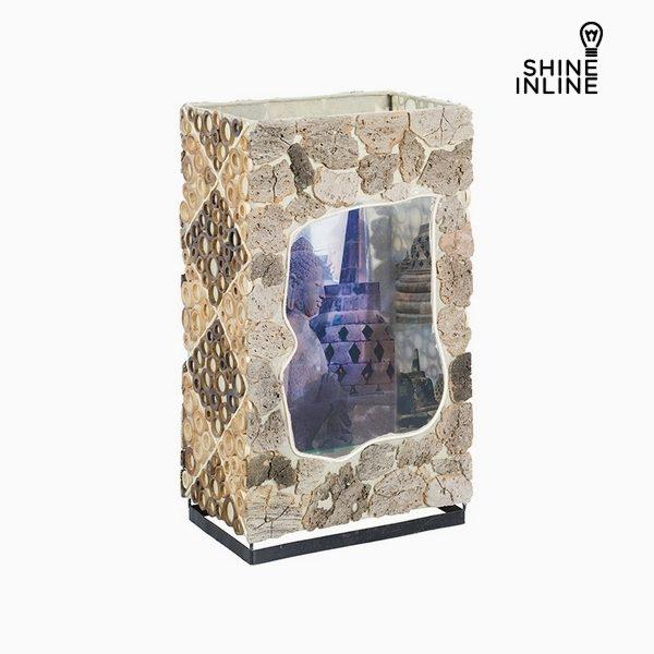 xekios Lampe de bureau Bambou (16 x 25 x 42 cm) by Shine Inline