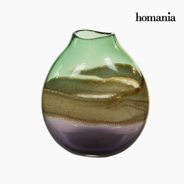 xekios Vase Verre (22 x 16 x 25 cm) - Collection Pure Crystal Deco by Homania