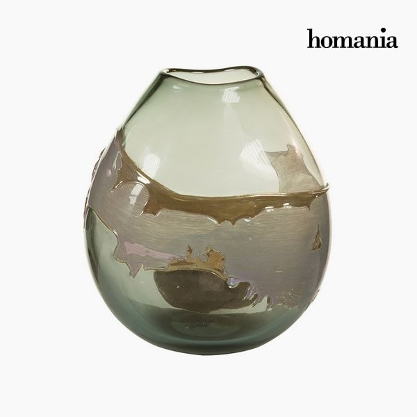 xekios Vase Verre (24 x 15 x 26 cm) - Collection Pure Crystal Deco by Homania