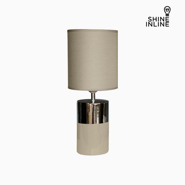 xekios Lampe de bureau Marron (19 x 19 x 48 cm) by Shine Inline