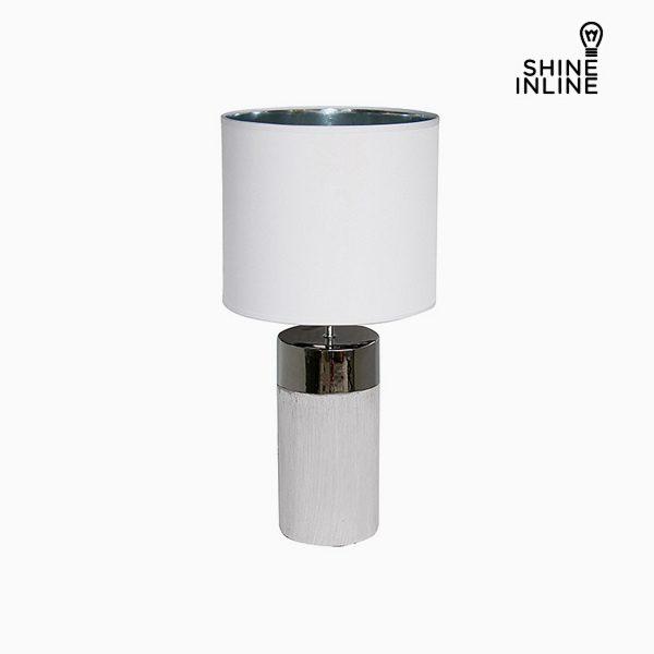 xekios Lampe de bureau Blanc (30 x 30 x 62 cm) by Shine Inline