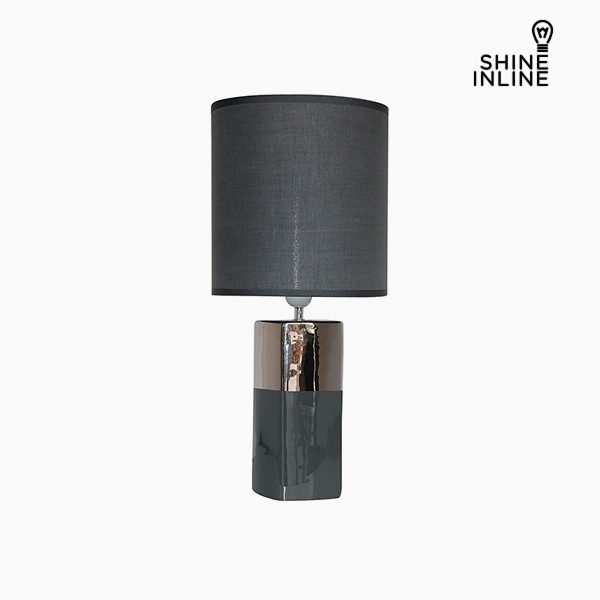 xekios Lampe de bureau Gris (24 x 24 x 54 cm) by Shine Inline