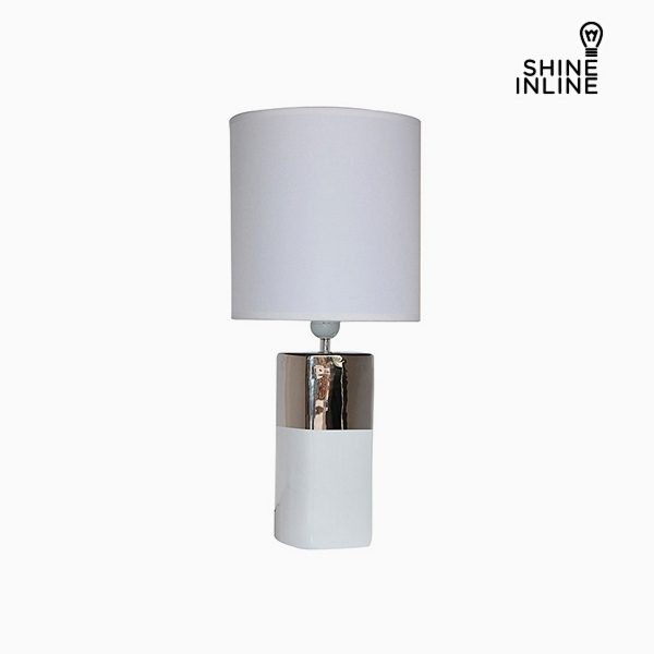 xekios Lampe de bureau Blanc (24 x 24 x 54 cm) by Shine Inline