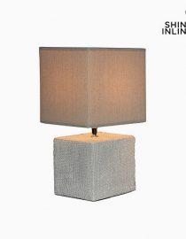 xekios Lampe de bureau Marron (22 x 22 x 48 cm) by Shine Inline