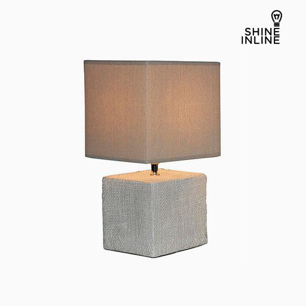 xekios Lampe de bureau Crème (22 x 22 x 48 cm) by Shine Inline