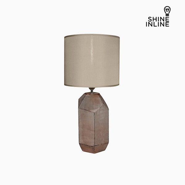 xekios Lampe de bureau Marron (30 x 30 x 61 cm) by Shine Inline
