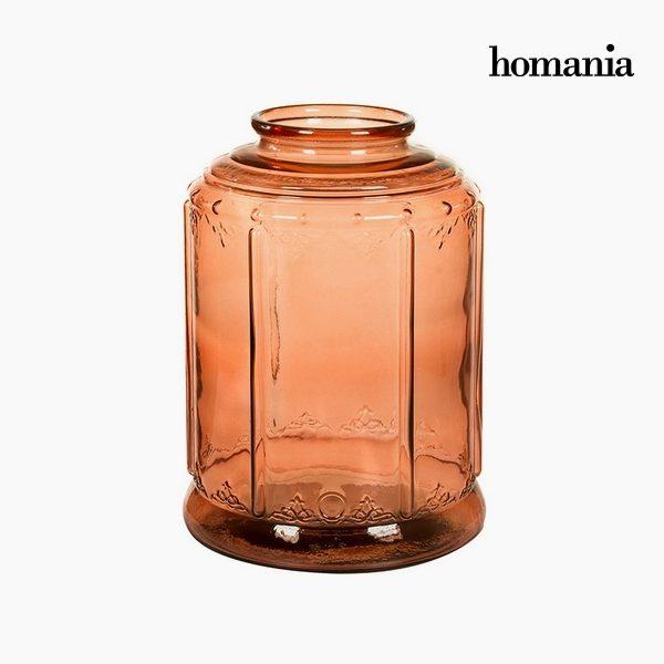 xekios Chandelier Verre recyclé (26 x 26 x 36 cm) by Homania