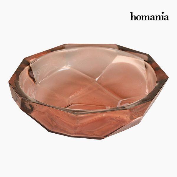 xekios Pièce centrale en verre recyclé Corail - Collection Crystal Colours Deco by Homania