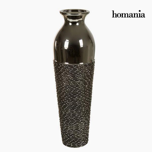 xekios Vase Céramique Argent Gris - Collection Serious Line by Homania