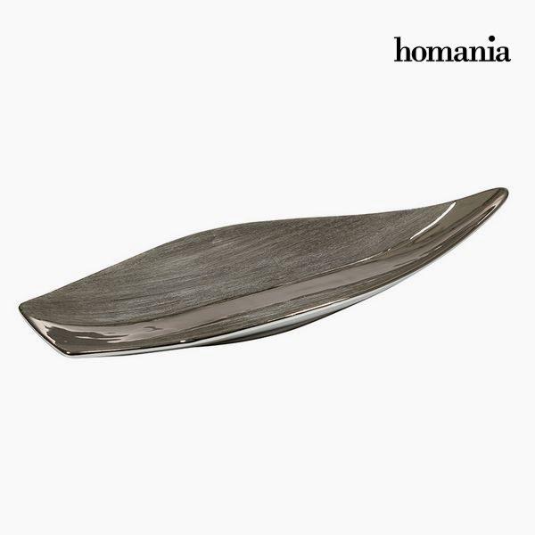 xekios Centre de Table Argent Noir - Collection New York by Homania