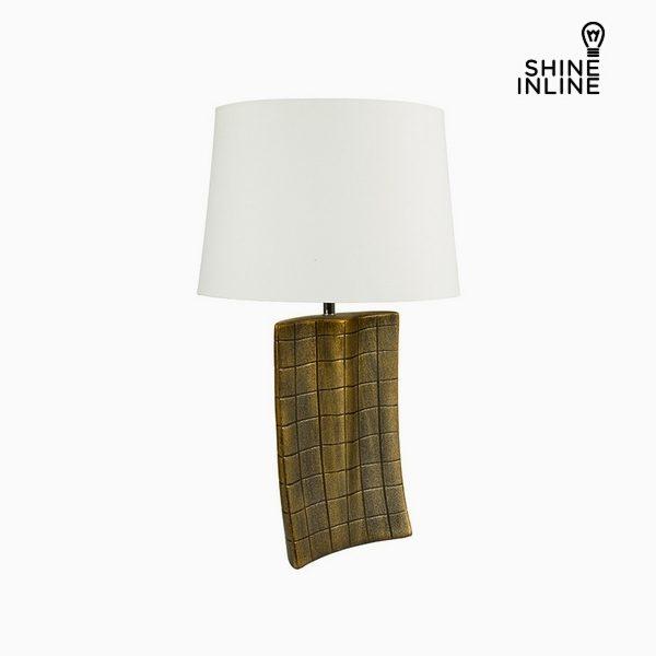 xekios Lampe de bureau Or Céramique (34 x 9 x 61 cm) by Shine Inline