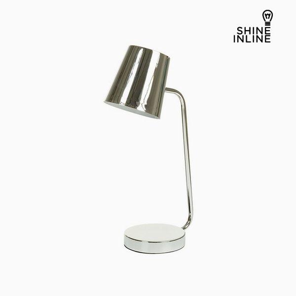 xekios Lampe de bureau Chrome Aluminium (22 x 14 x 46 cm) by Shine Inline