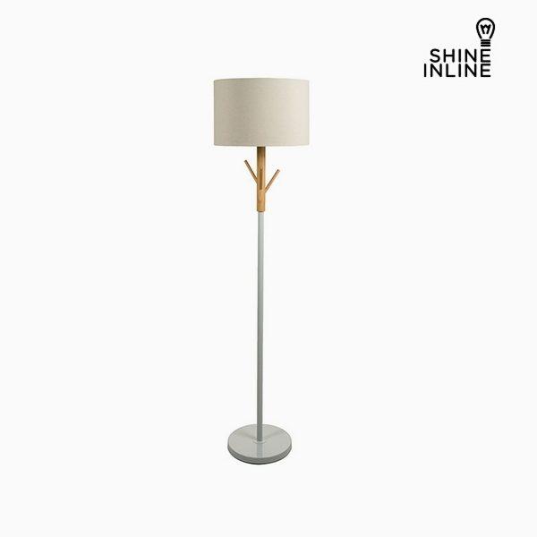 xekios Lampadaire Bois de hêtre Aluminium (38 x 38 x 160 cm) by Shine Inline