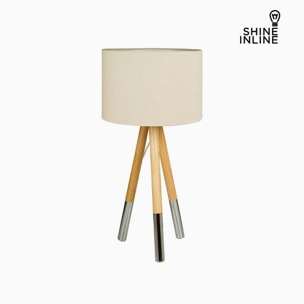 xekios Lampe de bureau Bois de hêtre Aluminium (35 x 35 x 69,5 cm by Shine Inline
