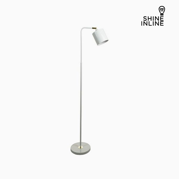 xekios Lampadaire Blanc Aluminium (29 x 29 x 144 cm) by Shine Inline
