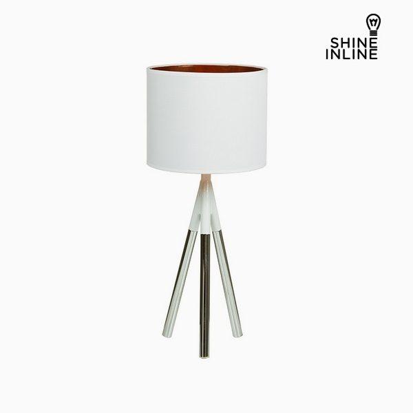 xekios Lampe de bureau Chrome Aluminium (23 x 23 x 52 cm) by Shine Inline