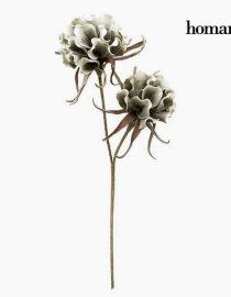 xekios Fleur Mousse Blanche Vert by Homania