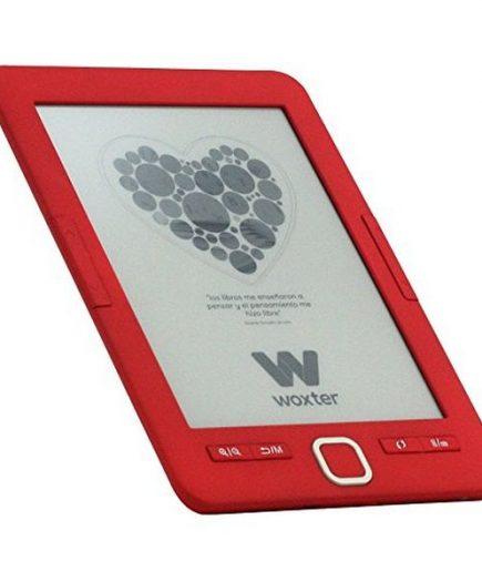 xekios eBook Woxter SCRIBA 195 6 4 GB Rouge