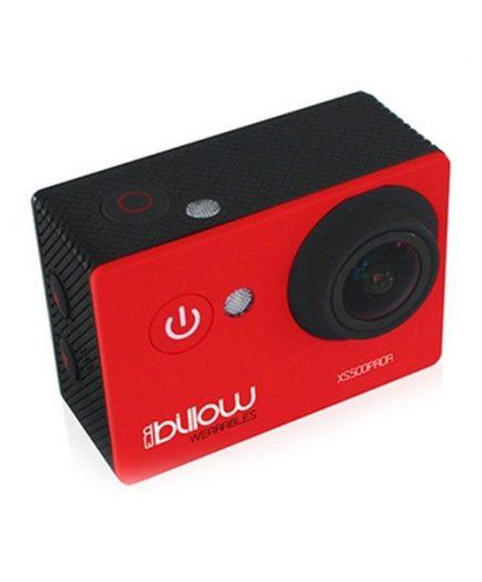 xekios Caméra de sport Billow XS500PROR 12 Mpx 1080p 170º Rouge
