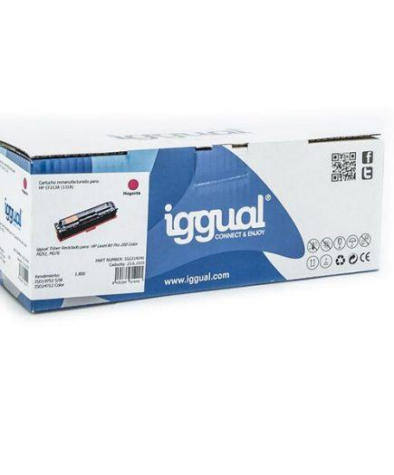 xekios Toner recyclé iggual IGG314241 HP 131X CF213X Magenta