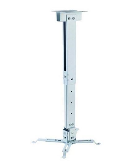 xekios Support de Toit Inclinable et Rotatif pour Projecteur iggual STP02-L IGG314593 -22,5 - 22,5° -15 - 15° Aluminium Blanc