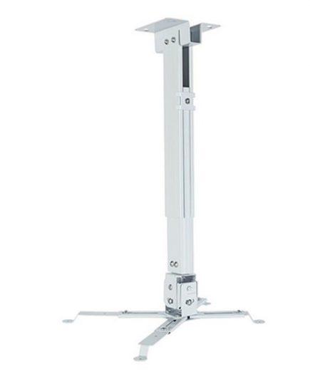 xekios Support de Toit Inclinable et Rotatif pour Projecteur iggual STP01-S IGG314692 -22,5 - 22,5° -15 - 15° Fer Blanc