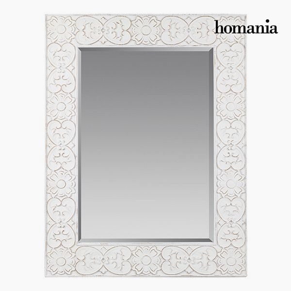 xekios Miroir Carré Blanc - Collection Pure White by Homania