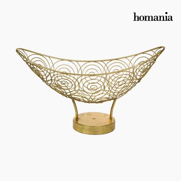 xekios Centre de Table Métal Doré - Collection New York by Homania