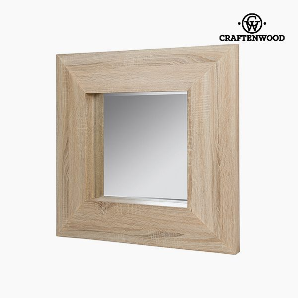 xekios Miroir Carré Bois Verre (69 x 69 cm) - Collection Be Yourself by Craftenwood