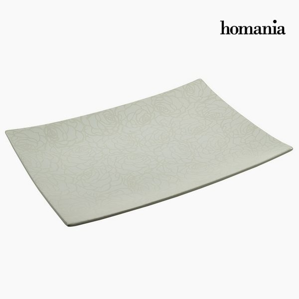 xekios Centre de Table Céramique (49 x 36 x 6 cm) by Homania