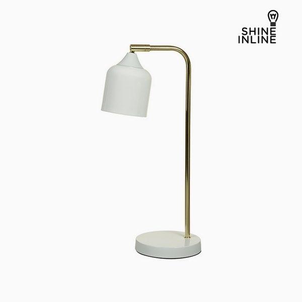xekios Lampe de bureau Blanc Aluminium (22 x 14 x 46 cm) by Shine Inline
