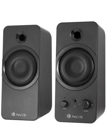 xekios Haut-parleurs pour jeu NGS GSX-200 20W USB Jack 3,5 mm