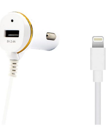 xekios Chargeur de voiture Ref. 138215 USB Cable Lightning