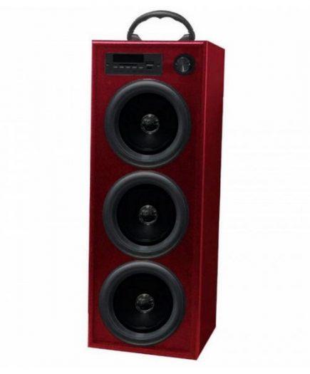 xekios Haut-parleur Innova TW/BK5R Radio FM Bluetooth 30W Rouge
