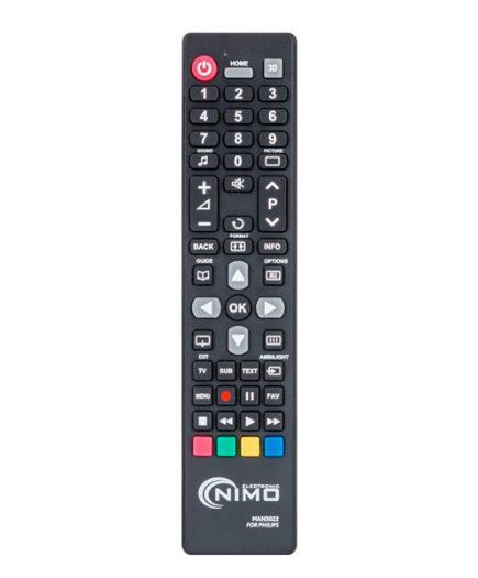 xekios Télécommande Universelle pour Philips NIMO MAN3022 Marron