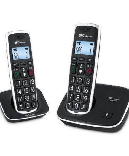 xekios SPC 7609N Téléphone DECT DUO Grandes Touches AG20 ID LCD ECO