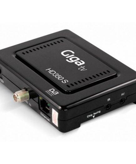 xekios Récepteur satéllite Gigatv HD370-S HDMI LAN Wifi Noir