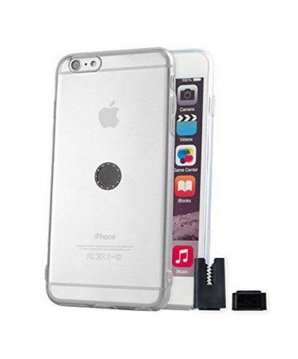 xekios Protection pour téléphone portable STIKGO STIK00011 iPhone 6S Plus CarClip TPU Transparent