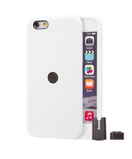 xekios Protection pour téléphone portable STIKGO STIK00039 iPhone 6/6S CarClip TPU Blanc