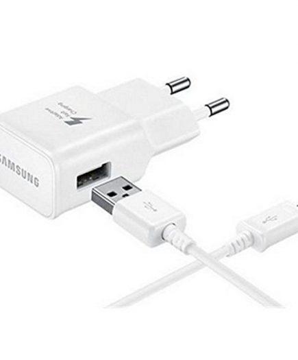 xekios Chargeur Mural + Câble Micro USB C Samsung EP-TA20EWECGWW USB 2.0 2 mA 5 V 240 V Blanc